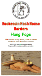 Mobile Preview of hockessinhash.org
